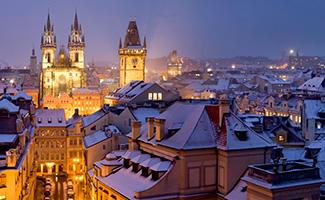 Fin d'année à Prague
