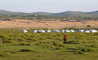 Circuit en Mongolie
