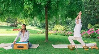 Yoga en Italie